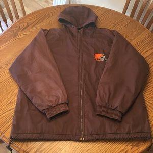 Vintage Cleveland Browns coat